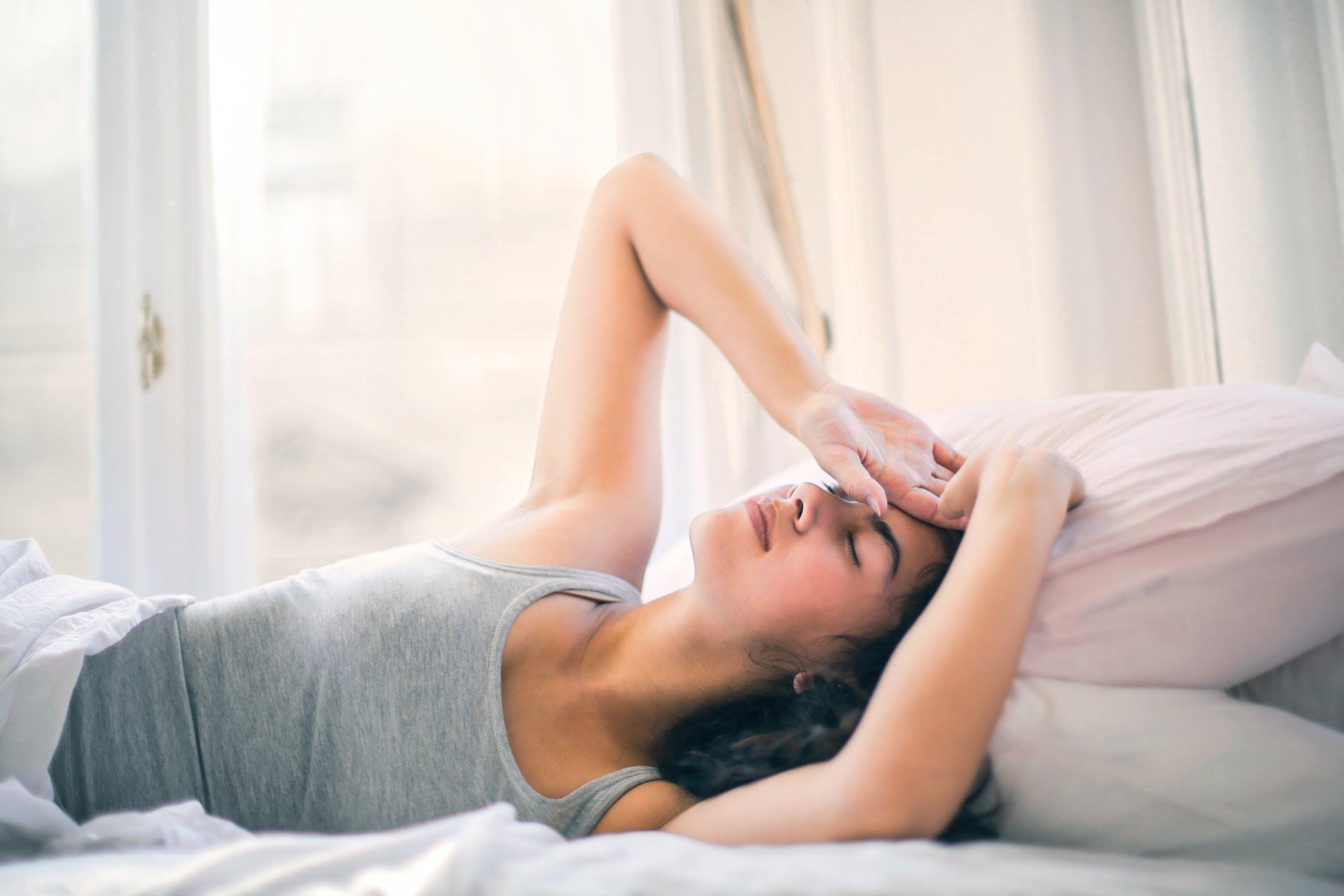 Príčina zlého spánku?